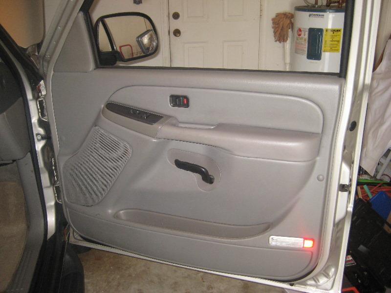 how to change inside door handle 2008 silverado