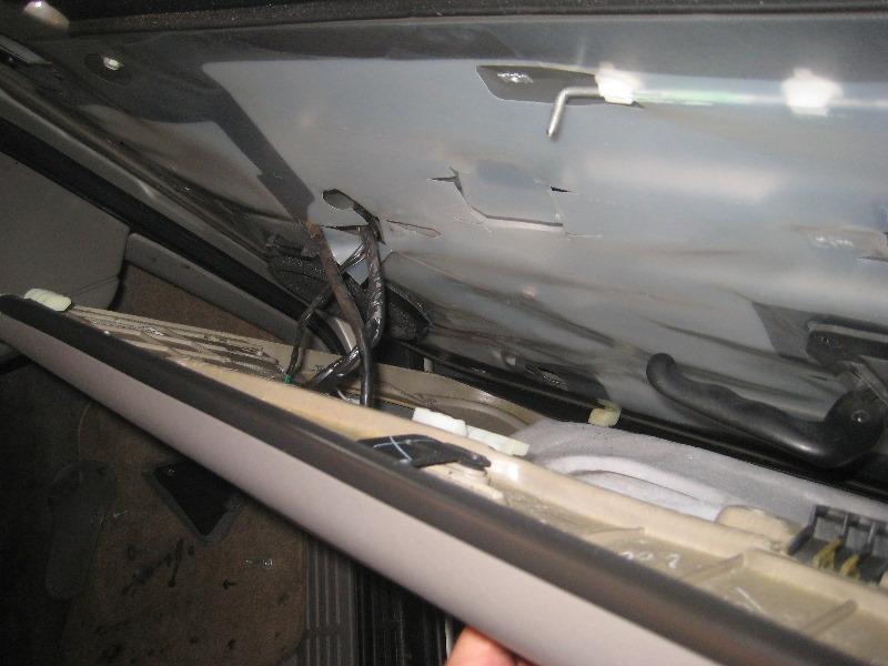 Removing Inner Door Panel On A 2000 Chevrolet Suburban 2500