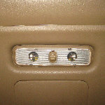 2003-2008 Honda Pilot Cargo Area Light Bulbs Replacement Guide