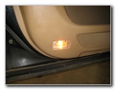 2003-2008 Honda Pilot Door Panel Courtesy Step Light Bulb Replacement Guide