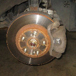 2003-2008 Honda Pilot Front Brake Pads Replacement Guide