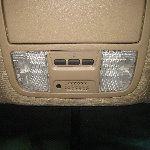2003-2008 Honda Pilot Map Light Bulbs Replacement Guide