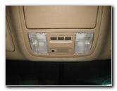2003-2008 Honda Pilot Map Light Bulbs Replacement Guide