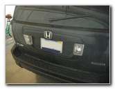 2003-2008 Honda Pilot Reverse Light Bulbs Replacement Guide