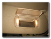 2003-2008 Honda Pilot Vanity Mirror Light Bulbs Replacement Guide