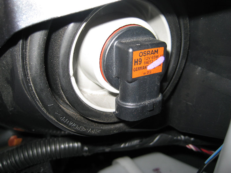 how to put hid light in nissan altima