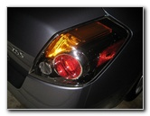 2007-2012 Nissan Altima Tail Light Bulbs Replacement Guide