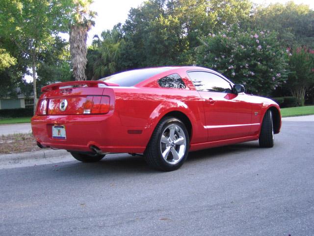 Mustang Gt Deluxe Zaino Polish 002