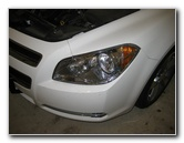 2008-2012 Chevy Malibu Headlight Bulbs Replacement Guide