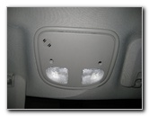 2008-2012 GM Chevrolet Malibu Overhead Map Light Bulbs Replacement Guide