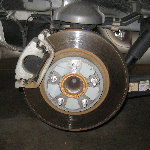 Dodge Grand Caravan Rear Disc Brake Pads Replacement Guide