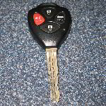 2009-2012 Toyota Corolla Key Fob Battery Replacement Guide