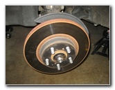 2009-2013 Toyota Corolla Front Disc Brake Rotors & Pads Replacement Guide