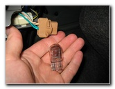 Remove Brake Bulb Socket 2009 2017 Toyota Corolla Tail Light Bulbs Replacement