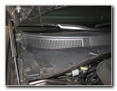 how to change the air filter on grand caravan 2014