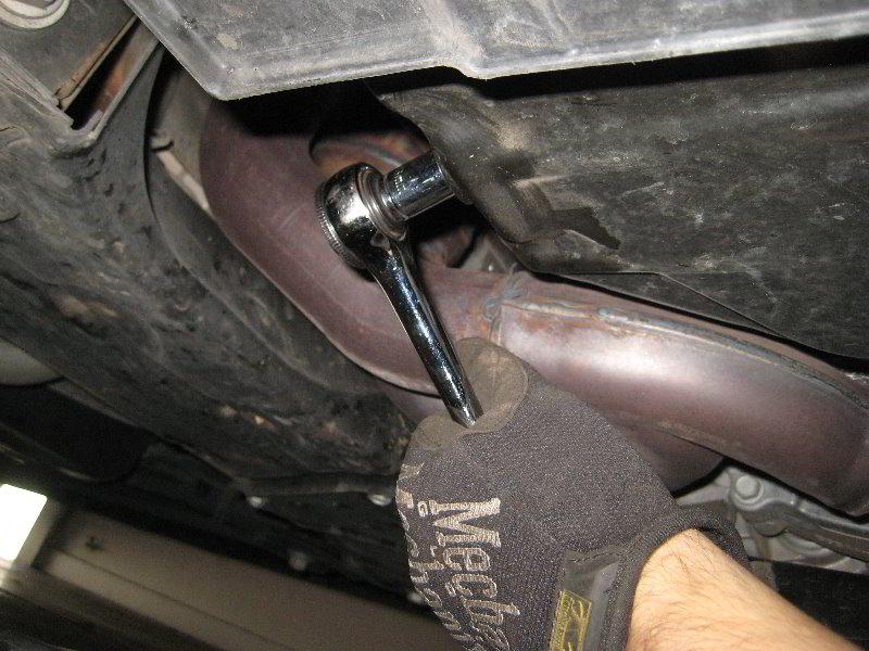How to change oil filter in 2014 dodge grand caravan 12