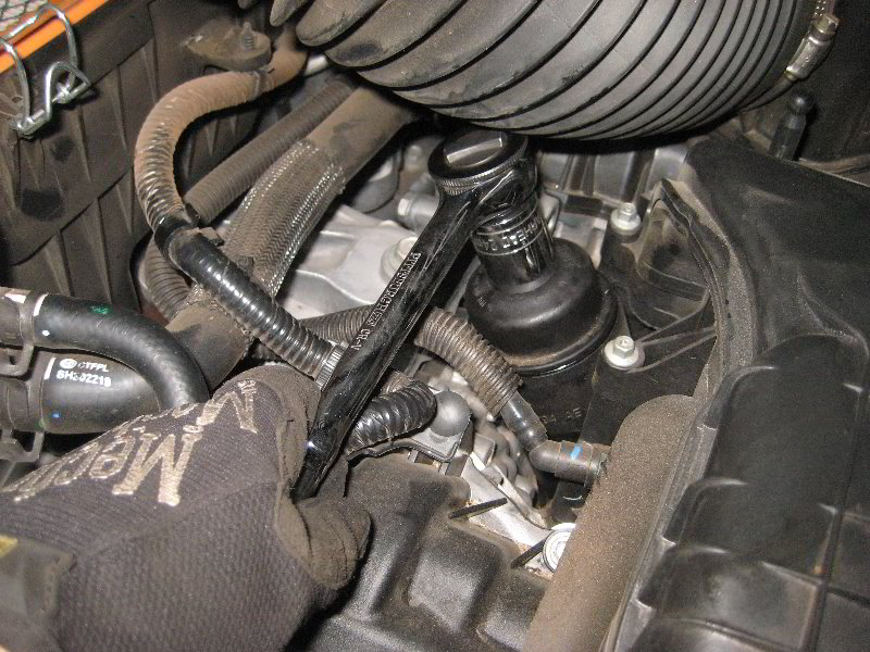 Change Fuel Filter Honda Cr V