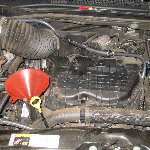 2011-2014 Dodge Charger 3.6L V6 Engine Oil Change Guide