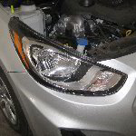 2011-2015 Hyundai Accent Headlight Bulbs Replacement Guide