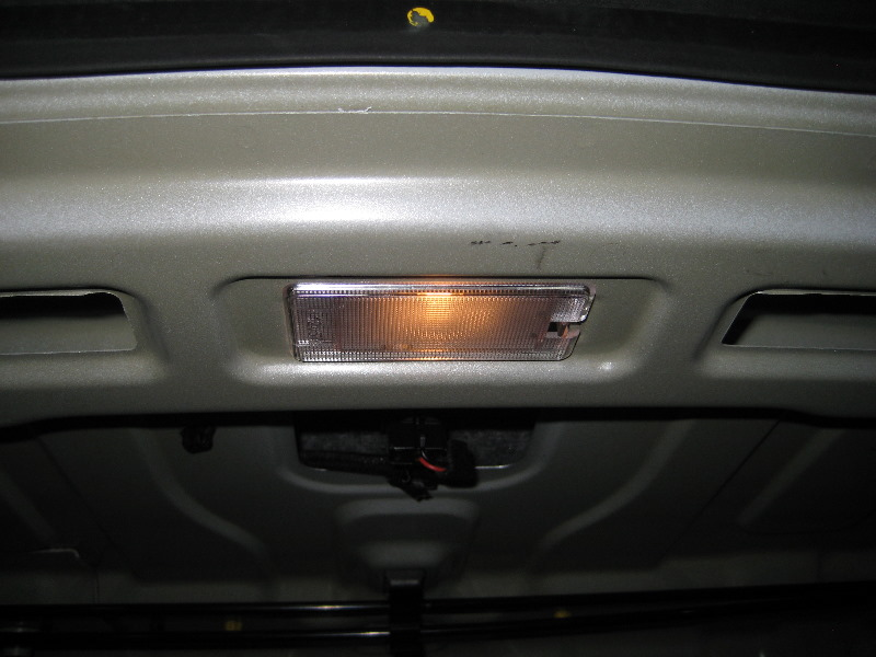 2011 2015 Hyundai Accent Trunk Light Bulb Replacement