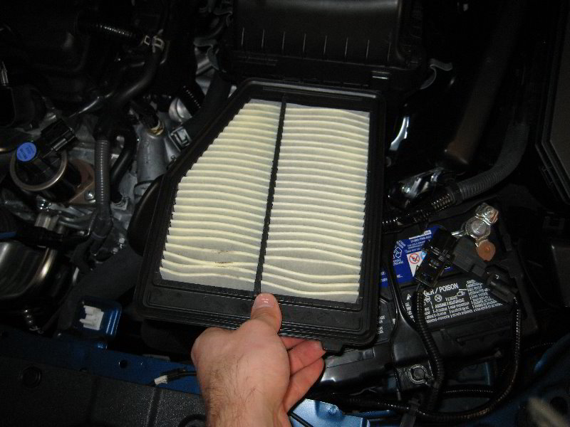 2012 2015 Honda Civic Engine Air Filter Replacement Guide 013