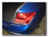 2012-2015 Honda Civic Tail Light Bulbs Replacement Guide