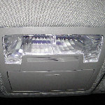 2012-2016 Toyota Camry Map Light Bulbs Replacement Guide