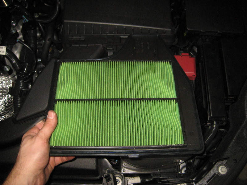 Lovely 2013 2015 Nissan Altima QR25DE I4 Engine Air Filter Replacement Guide 010