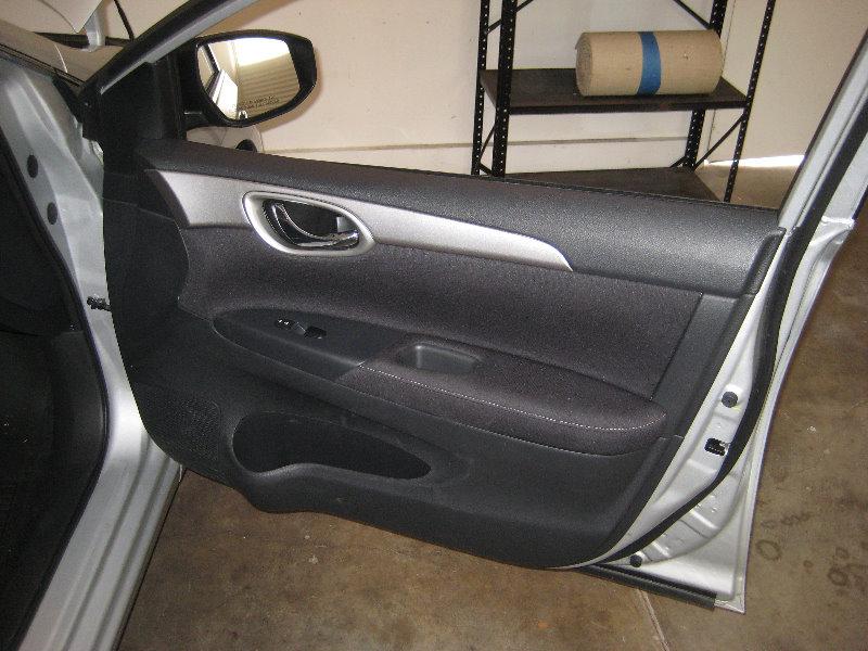 2013 2015 Nissan Sentra Interior Door Panel Removal Speaker