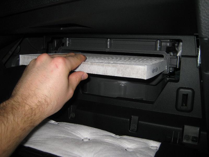 2013 2016 Hyundai Santa Fe Cabin Air Filter Replacement