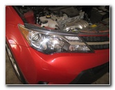 2013-2016 Toyota RAV4 Headlight Bulbs Replacement Guide