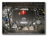 2014-2018 Mazda 6 SkyActiv-G 2.5L I4 Engine Oil Change Guide
