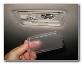 Nissan Rogue Dome Light Bulb Replacement Guide - 2014 To ...