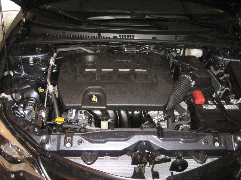 2014 2018 toyota corolla 2zr fe engine oil change filter for Toyota corolla motor oil