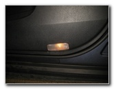 2014-2018 Toyota Highlander Door Panel Courtesy Step Light Bulb Replacement Guide