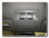 2014-2018 Toyota Highlander Map Light Bulbs Replacement Guide