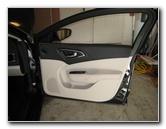 2015-2017 Chrysler 200 Plastic Interior Door Panel Removal Guide