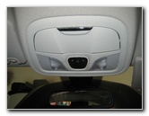 2015-2017 Chrysler 200 Map Light Bulbs Replacement Guide