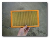 2015-2018 Nissan Murano VQ35DE Engine Air Filter Replacement Guide