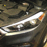2016-2018 Hyundai Tucson Headlight Bulbs Replacement Guide