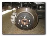 2016-2018 Hyundai Tucson Rear Brake Pads Replacement Guide