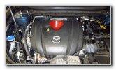 2017-2022 Mazda CX-5 2.5L I4 Engine Oil Change Guide