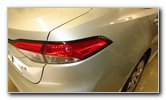 2020 Toyota Corolla Tail Light Bulbs Replacement Guide