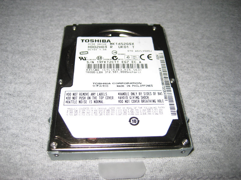 Acer Aspire One Netbook Hard Drive Ram Upgrade Guide 012