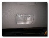 2001-2006 Acura MDX Headliner Cargo Area Light Bulb Replacement Guide