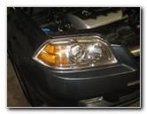 2001-2006 Acura MDX Headlight Bulbs Replacement Guide