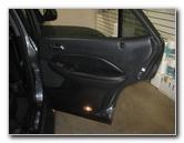 2001-2006 Acura MDX Rear Plastic Interior Door Panels Removal Guide