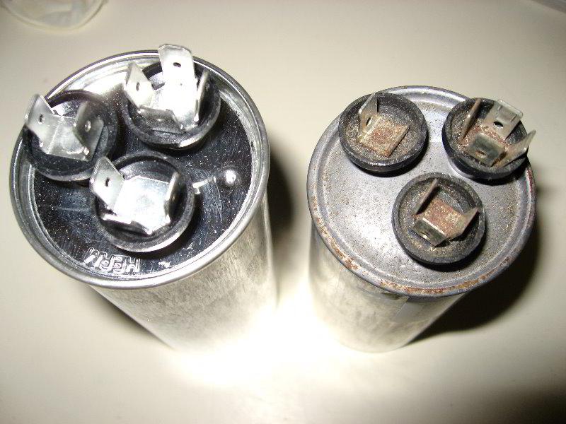 Furnace Capacitor Replacement - Facias