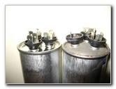 Air Conditioner Dual Motor Start Capacitor Replacement
