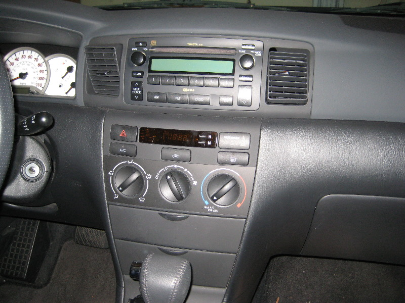 blitzsafe toyota corolla aux input install guide review 003. Black Bedroom Furniture Sets. Home Design Ideas